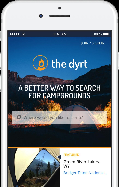 The Dyrt App