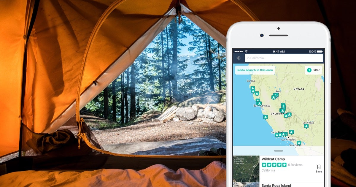 A Better Way to Search for Campgrounds